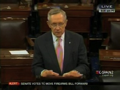 Reid Praises McCain For Helping To Block Gun Control Filibuster