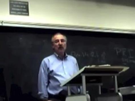 Professor Tells Class GOP 'Stupid And Racist'