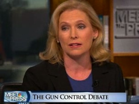 Senator Gillibrand Gets Emotional Over Gun Legislation