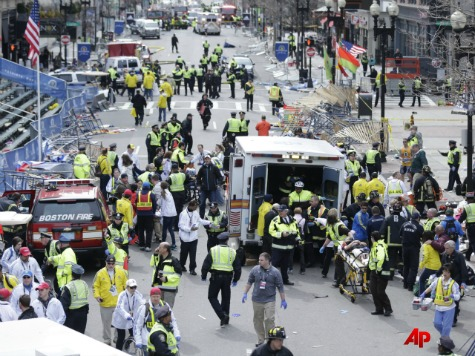 *LIVE STREAM* Boston Marathon Finish Line