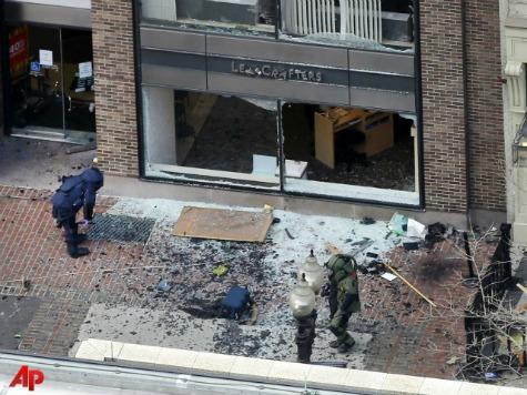 WATCH: Debris From Boston Marathon Explosion