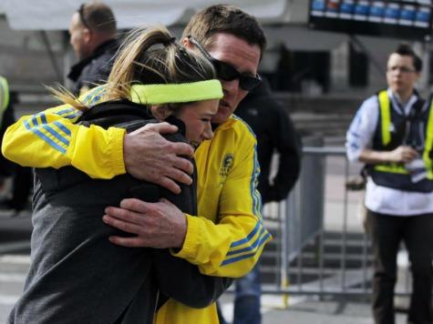 WATCH: Spectators, Runners Flee Scene Of Explosion