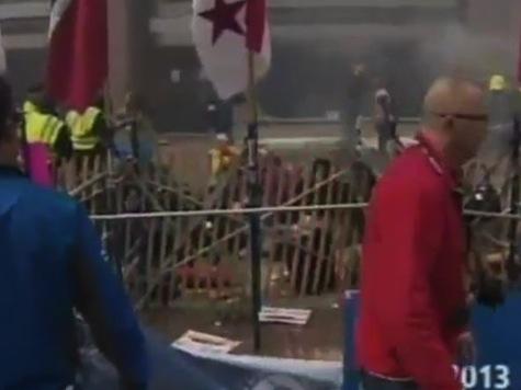 **Content Warning** Video Of Injuries At Boston Marathon