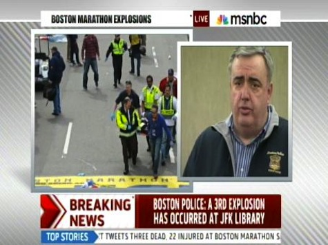 Report: Authorities Detain Saudi National as Suspect in Boston Bombing