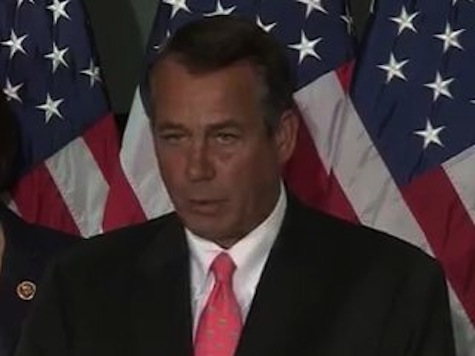 Boehner Reaches Out To Victims Of Boston Bombing