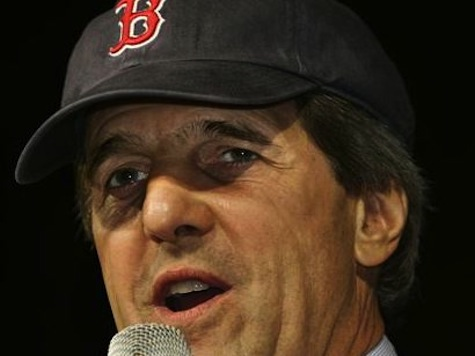 John Kerry Makes Gaffe On Boston Red Sox Tradition