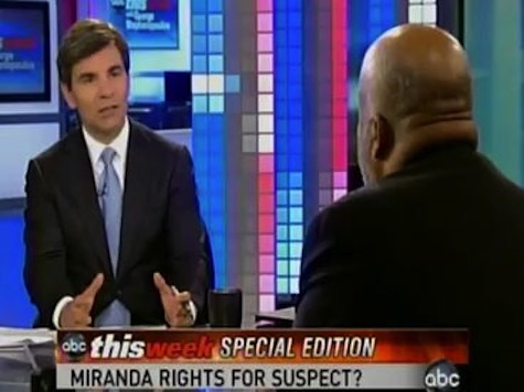 Stephanopoulos Shocked Guy 'Laying Flat On His Back In A Hospital' Can Be 'Enemy Combatant'