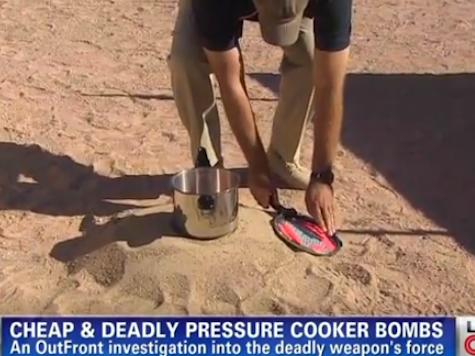 CNN Demonstrates Pressure Cooker Bomb, Highlights Destructive Power