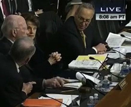 Fireworks At Immigration Hearing As Grassley Shouts Down Schumer