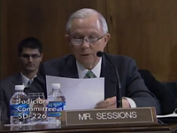 Sen Sessions Starts Reading Immigration Bill As 'Protest' In Committee