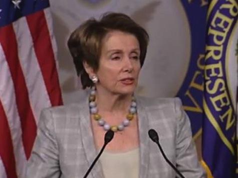 Pelosi: Sequester Harmful To Children, Elderly