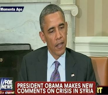 Obama: Syria Red Line Still Stands