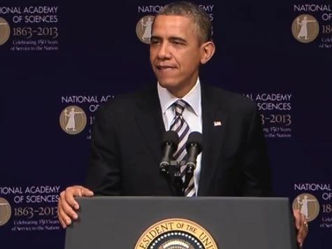 Obama Laugh Line: 'We Have No Money'
