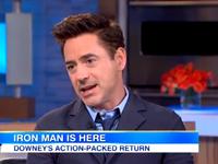 Downey Jr. Talks Upcoming Iron Man