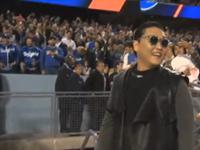 Psy Takes Over Dodger Stadium