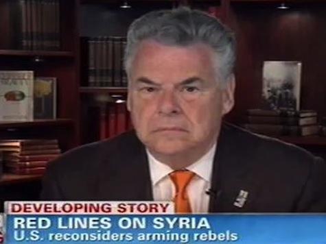 Rep. King: Arming Syria Rebels Could Strengthen Al-Qaeda