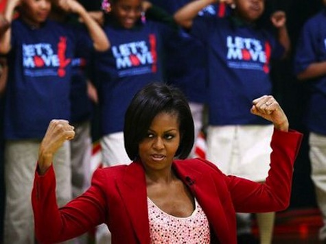 FLOTUS: Chris Christie An Example Why 'Let's Move' So Important