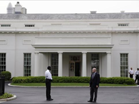 West Wing Of White House Evacuated