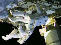 WATCH: Spacewalking Astronauts Hope To Stop Leak