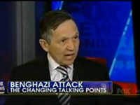 Kucinich: Benghazi Talking Points 'Politically Scrubbed'
