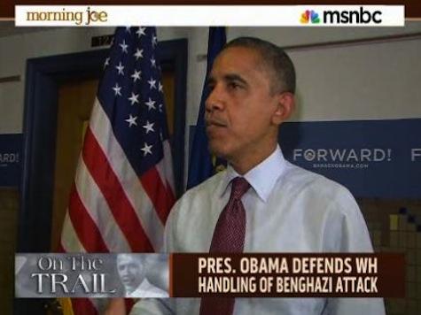 Flashback — Obama On Benghazi: 'Ultimately … I'm Responsible'