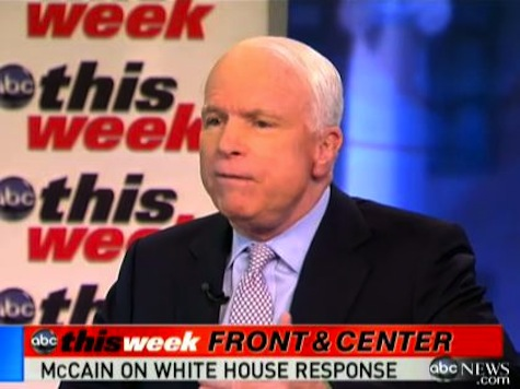 McCain On Benghazi: 'I'd Call It A Cover-Up'
