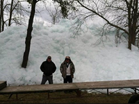 WATCH: Ice Waves Come Ashore In Minnesota