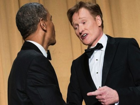 Flashback: Conan Joked About Harassing IRS Audit at WHCD