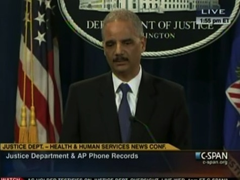 Holder Defends AP Probe: 'Agressive' Action Necessary, 'Very Serious Leak'