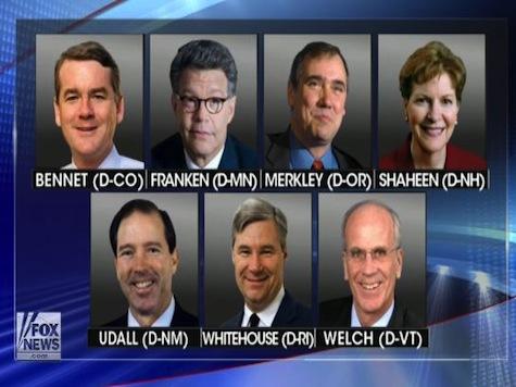 Dem Senators Asked IRS To Cap 'Political Spending' On Non-Profits