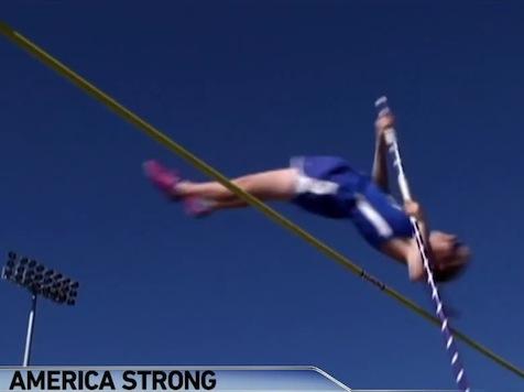 Amazing: Blind Teen Top Pole-Vaulter In Texas