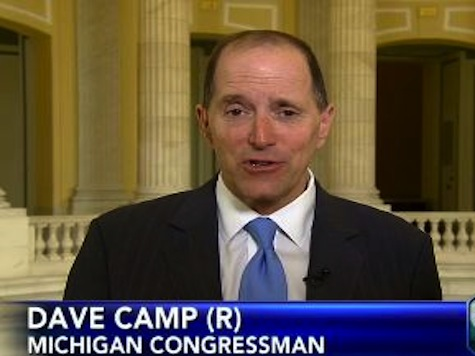 Ways And Means Cmte Chair Suggests Targeting Scandal Involves Officials Outside IRS