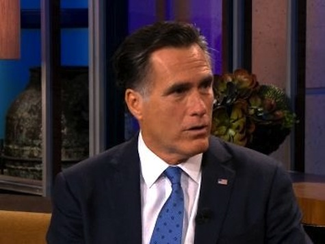 Romney Calls For Special Counsel In IRS Scandal
