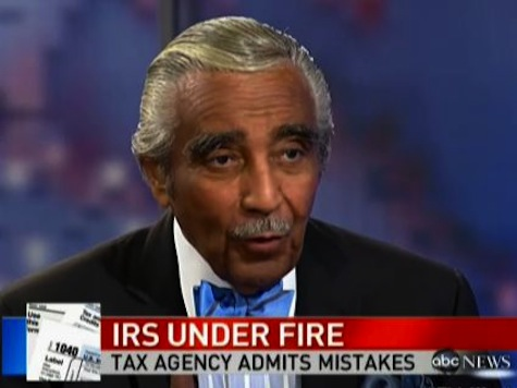 Rangel Defends IRS!