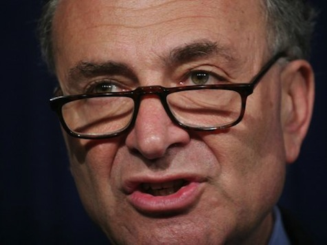 Hot Mic Catches Schumer Organizing Immigration Votes With 'Our Republicans'