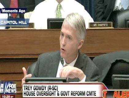 Rep Gowdy Protests, Demands Lerner Testify: 'She Already Testified'