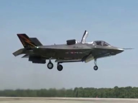 WATCH: Marine F-35B Executes First Vertical Takeoff