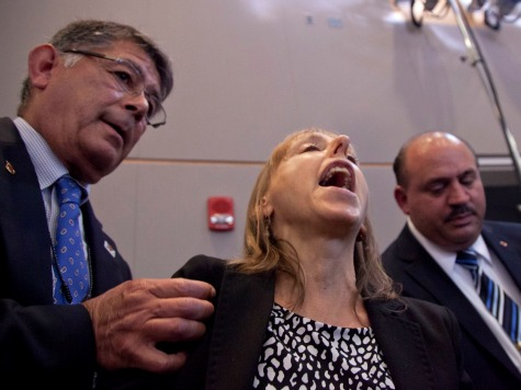 Code Pink's Medea Benjamin: 'Speaking Out' Against President 'Not Rude'