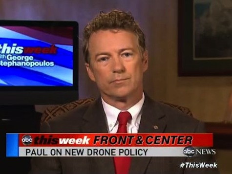 Rand Paul: Drone Due Process is Not Looking at 'Flash Cards and a Power Point Presentation'