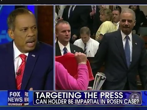 Brit Hume Tears Apart Juan Williams For Defending Holder