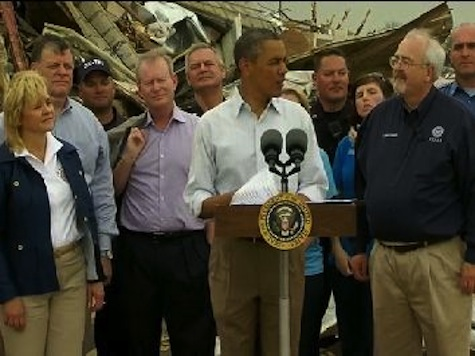 Obama Says a Picture Worth a Thousand Words at His Oklahoma Tornado Photo-Op
