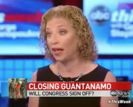 Wasserman Schultz Won't Say Gitmo Will Close