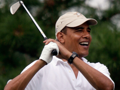Obama Laments: They Never 'Let Me Have Any Fun'