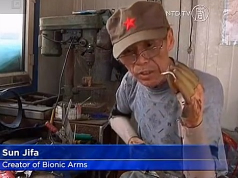 Chinese Real-Life Iron Man Builds Own Prosthetic Arms