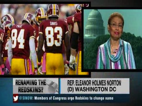 Dem Rep: 'Disgusting' Redskins Refuse To Change Team Name