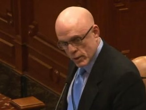 IL State Rep Tearful Announcement Same Sex Marriage Will Not Pass