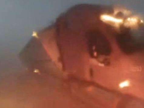 Watch: Tornado Tips Semi Truck