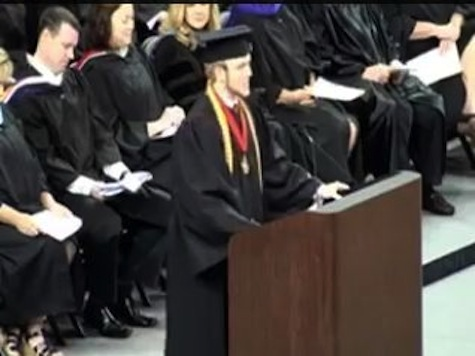 Valedictorian Rips Up Approved Graduation Speech, Recites Lord's Prayer