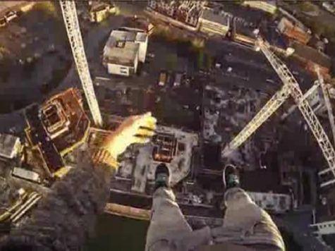 WATCH: Dizzying First-Person Crane Climb