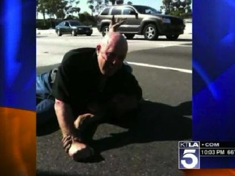 Bloody Road Rage Fight on LA's 405 Freeway